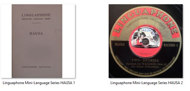 Linguaphone Mini-Language Series HAUSA 0.JPG