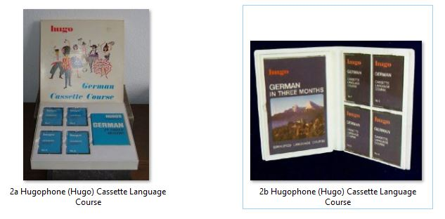 2 Hugophone (Hugo) Cassette Language Course.JPG