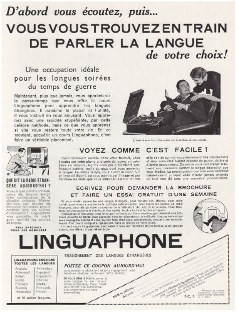 Linguaphone Occupation Idéale.JPG