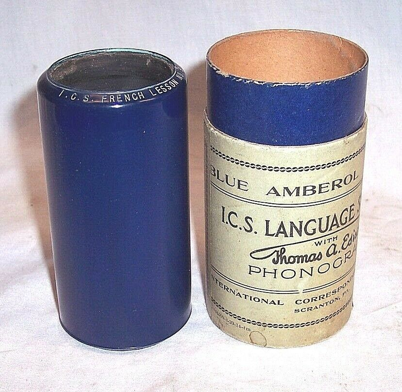 I.C.S. Phonograph Cylinder French Lesson 1.jpg